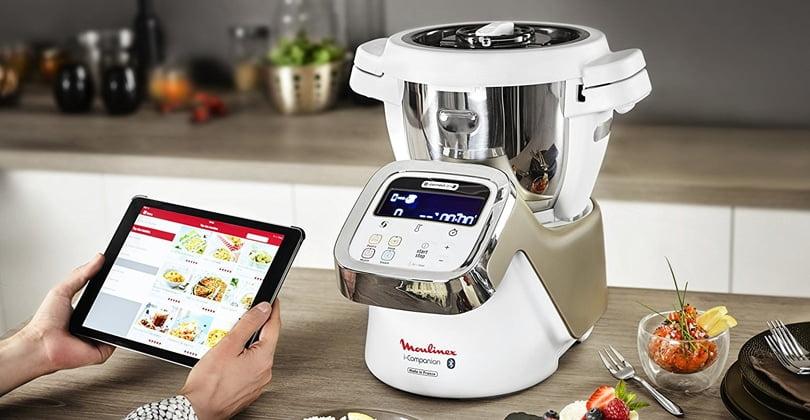 Moulinex i companion test avis robot cuiseur connect - Nouveau livre companion moulinex ...