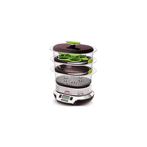 SEB CUISEUR VAPEUR VITACUISINE COMPACT 0% BPA Vitamine preservée Cuisson légumes, le poisson, la viande, riz, pates, fruits, desserts VS404300