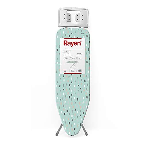 Rayen - Planche à repasser - Gamme basique - Planche avec maille métallique - Hauteur réglable - Repose - Planches - Dimensions : 38 x 120 cm