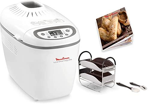 Moulinex OW610110 Home Bread Baguette Machine à Pain, 1650 W, 1.5 kilograms, Blanc