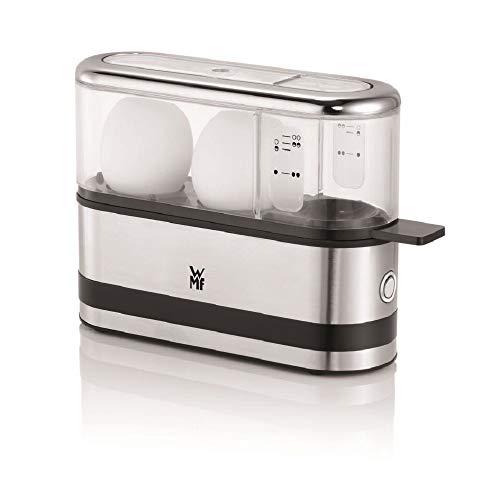 WMF KITCHENminis Cuit-Oeufs 2 Oeufs A La Coque Mollet Dur Perceur Oeuf Cromargan Inox 18/10 Tritan Sans BPA250W 0415020011