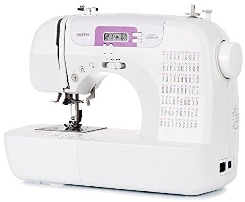 Brother CX70PE (Patchwork Edition) – Machine à coudre électronique avec 70 points (utilitaires, élastiques, décoratifs), Couture automatique, écran multifonctions