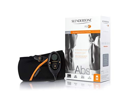 Slendertone Abs7, Ceinture de Tonification Abdominale Mixte Noir 69-119 cm