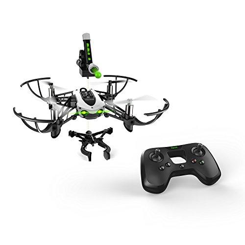 Parrot - MiniDrone Quadricoptère Mambo Mission (Drone + Accessoires + Flypad) - Noir/Blanc