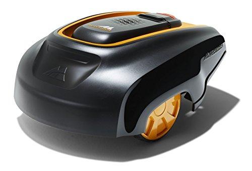 Robot tondeuse McCulloch ROB R1000: Robot tondeuse idéal pour pelouse de 1000 m², temps de charge de 50minutes seulement, 5hauteurs de coupe (N° d'art.00096-70.598.25)