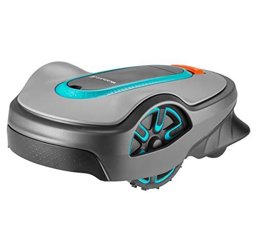 GARDENA SILENO life 1000 | Tondeuse Robot jusqu'à 1000m² - Tond sous la pluie et passages étroits, Bluetooth App, Capteur de gel, Très silencieux, Automatique - (15102-26), FR/NL-Version