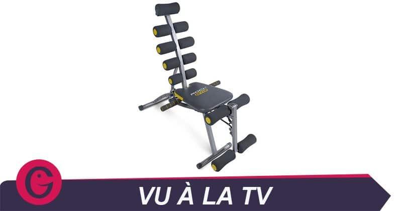 J'ai testé pour vous… le Rock Gym, appareil de musculation complet peu encombrant