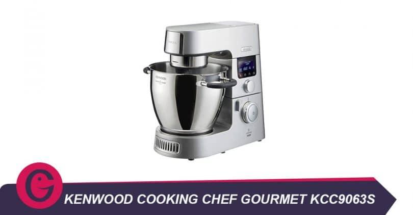 Cuisson et pâtisserie avec Kenwood Cooking Chef GourmetKCC9063S