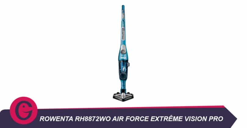 Le Rowentarh8872wo air force extrême vision pro éclaire les poussières