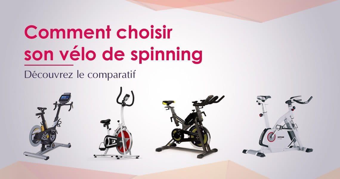 Comparatif des meilleurs vélos spinning