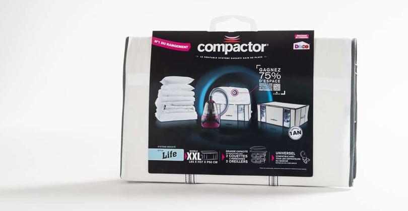 Housses Compactor Life XXL + M – Gagner de la place efficacement