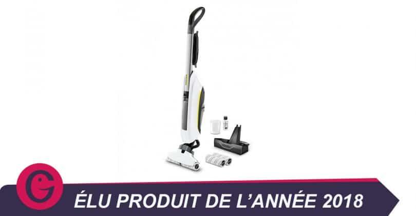 Peut-on aspirer et nettoyer avec le KärcherFC5 Premium blanc?