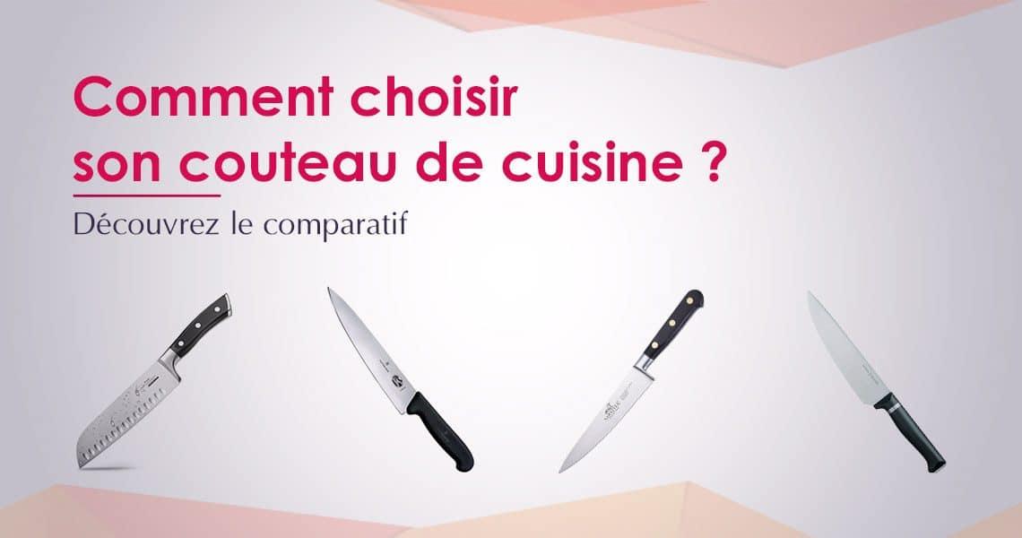 Comparatif des meilleurs couteaux de cuisine