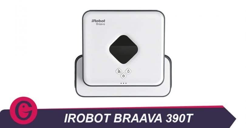 iRobot Braava390t passe la serpillière à notre place