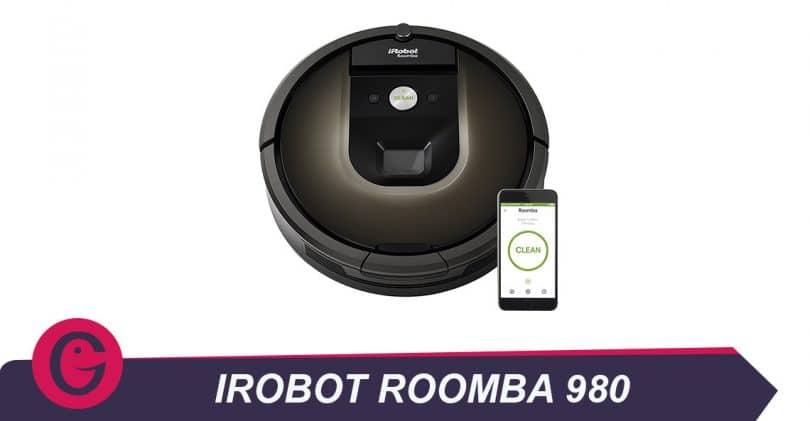 iRobot Roomba980, aspirateur robot haut de gamme