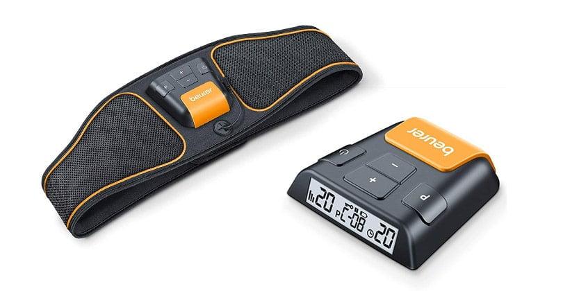 Dessiner efficacement ses abdos avec la ceinture Beurer EM 37