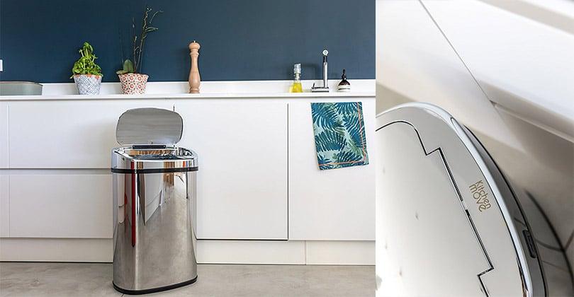 Kitchen move poubelle de cuisine automatique 58l
