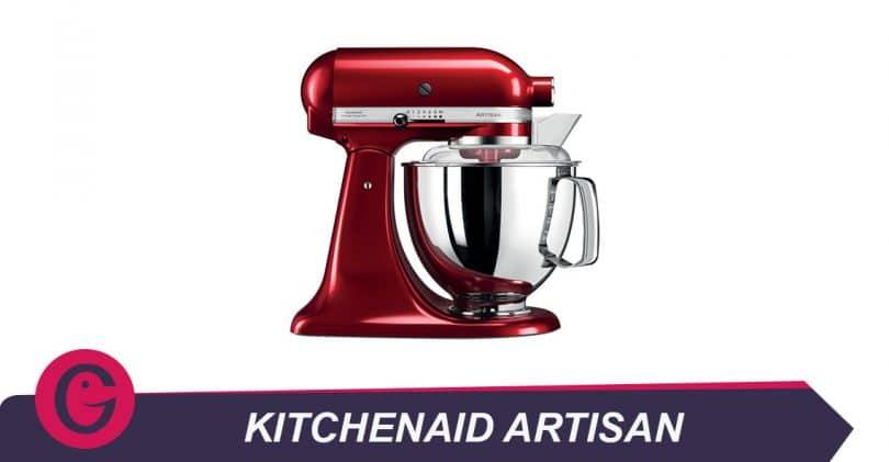 Préparer tous les goûters avec le Kitchenaid Artisan