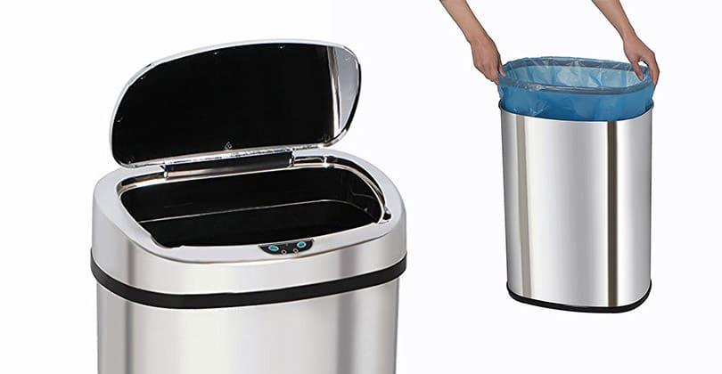 kitchen move poubelle de cuisine automatique 58 l test avis. Black Bedroom Furniture Sets. Home Design Ideas