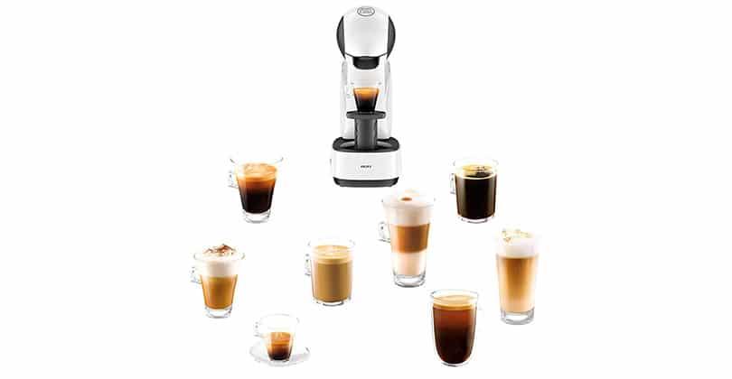 Préparation manuelle du café avec Dolce Gusto Infinissima