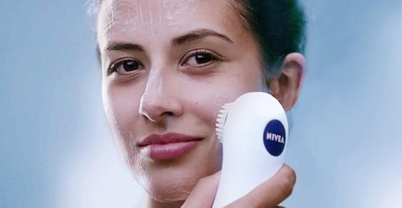 Les atouts de la brosse nettoyante visage Nivea Pure Skin