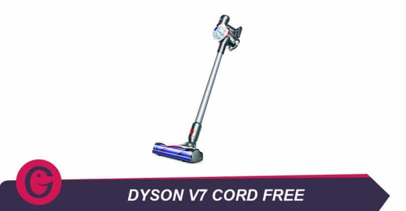 Avis critique sur le balai aspirateur DysonV7 Cord Free