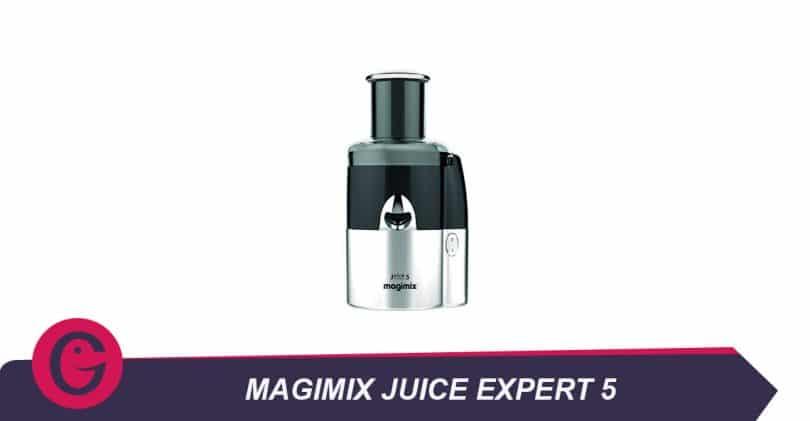Préparer des jus et des salades avec le Magimix juice expert5