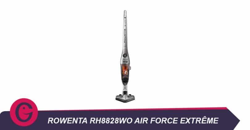 Aspirateur sans fil longue durée: le Rowentarh8828wo air force extrême
