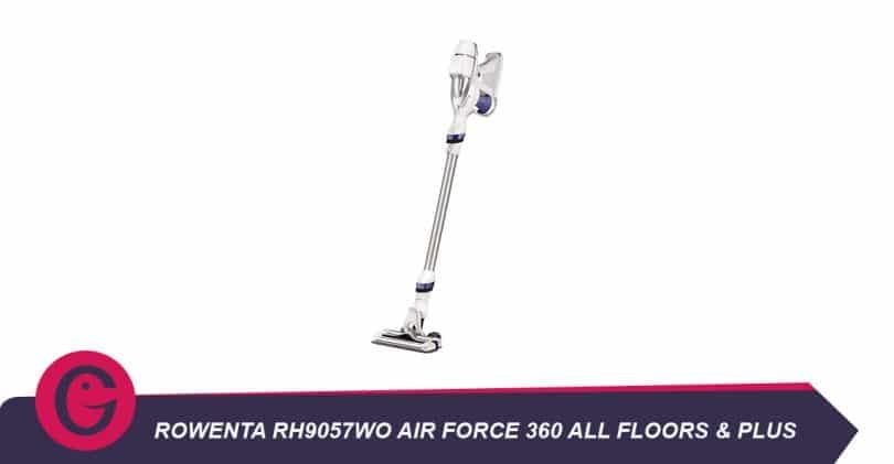 Aspirateur stick et aspirateur à main Rowentarh9057wo air force360