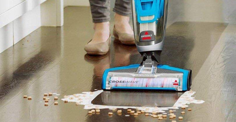 Aspirer, nettoyer et sécher avec le Bissell CrossWave