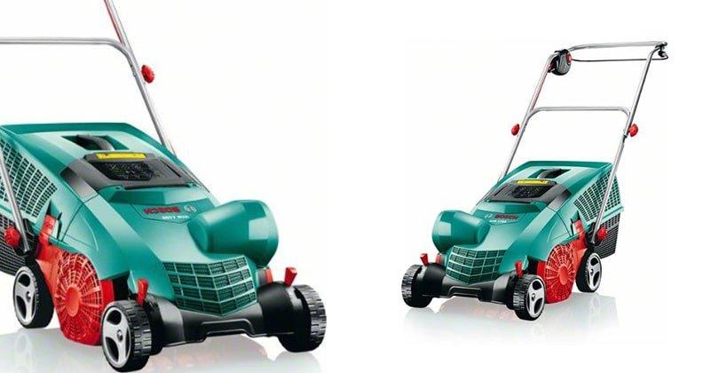 Prendre soin de sa pelouse avec le scarificateur Bosch avr 1100