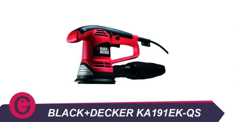 Pour bricoleur amateur: Black+Decker ka191ek-qs ponceuse excentrique filaire – 480w – 125 mm