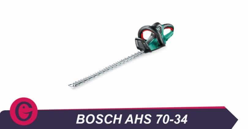 Pour quel type de haies acheter le taille haies Bosch AHS70-34