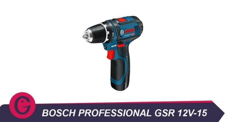 Outil pas cher, la Bosch professional gsr12v-15 perceuse sans fil