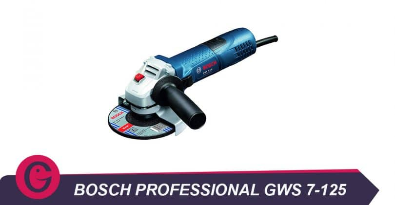Bosch professional meuleuse angulaire gws 7-125 : une solution ergonomique