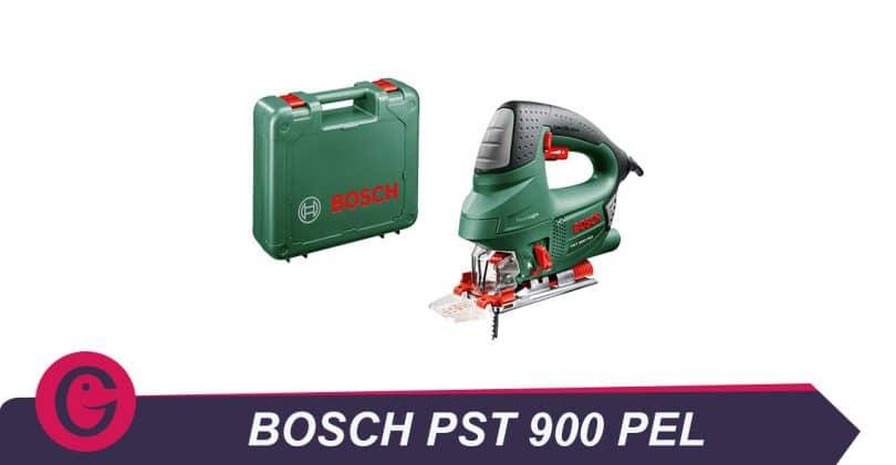 Polyvalence de la scie sauteuse Bosch PST 900PEL
