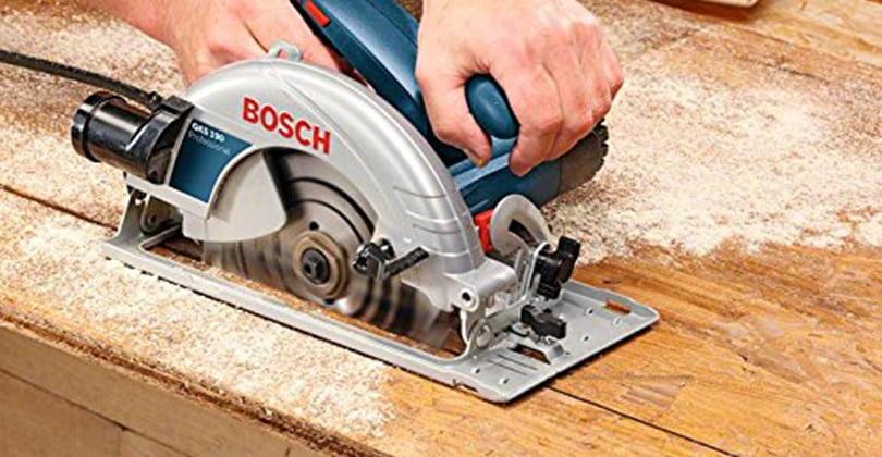 Puissance et précision avec la scie circulaire Bosch gks 190