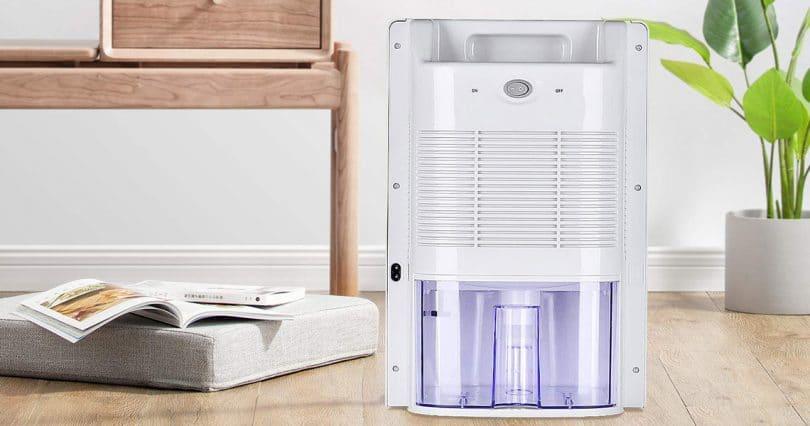 installation et nettoyage d'un déshumidificateur d'air