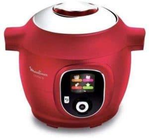 Cuisiner avec le Moulinex CE851500 Cookeo+ rouge