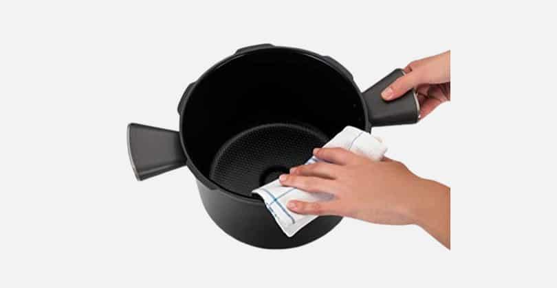 cookeo nettoyage après-repas