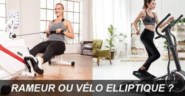 rameur ou vélo elliptique