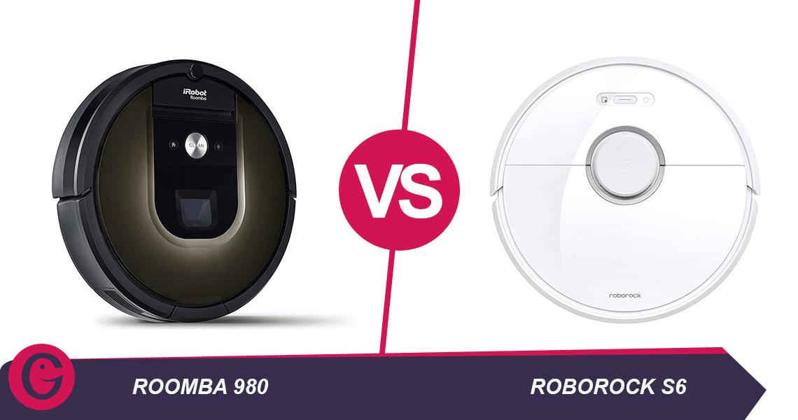 roomba 980 vs roborock s6