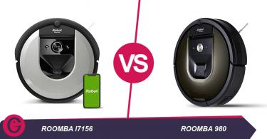 roomba i7156 vs roomba 980
