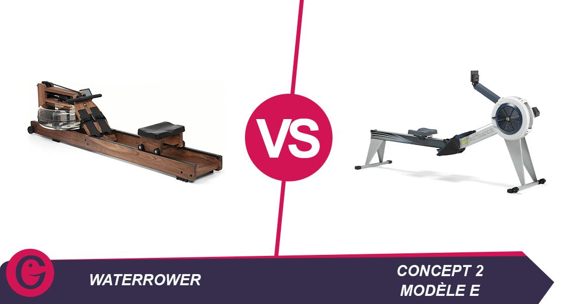 waterrower vs concept 2 modele e