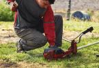comment changer le fil d'un coupe bordure électrique
