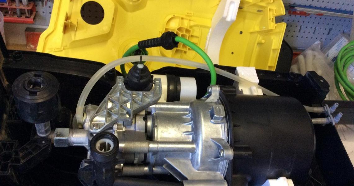comment réparer un nettoyeur haute pression